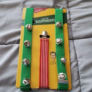 🌲 ☆ NWT Wembley Christmas Suspenders